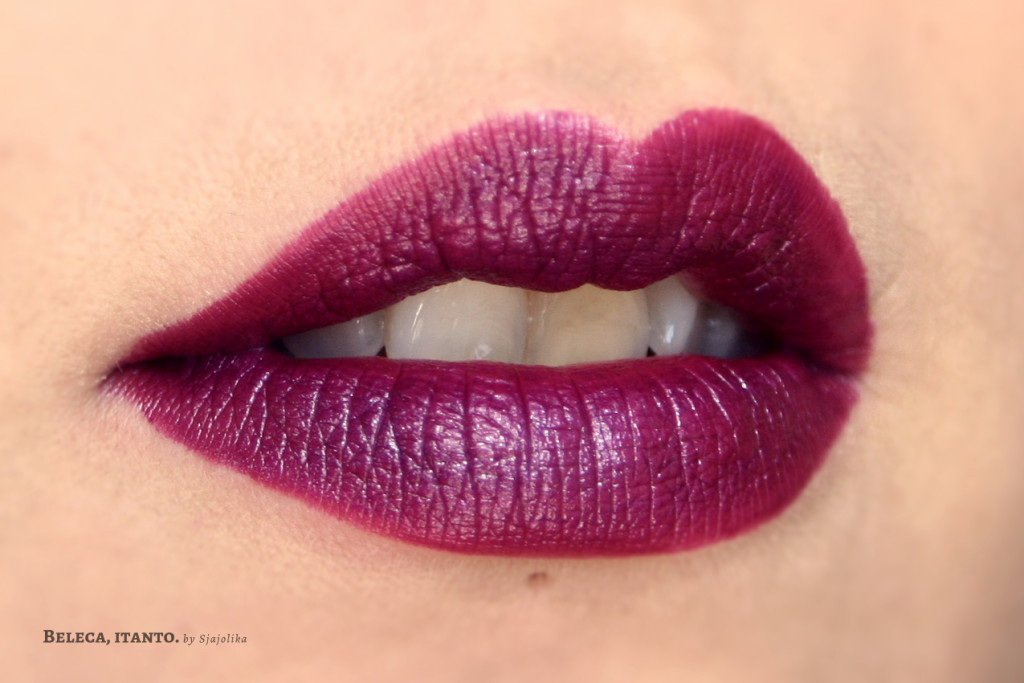 lime crime poisonberry swatch