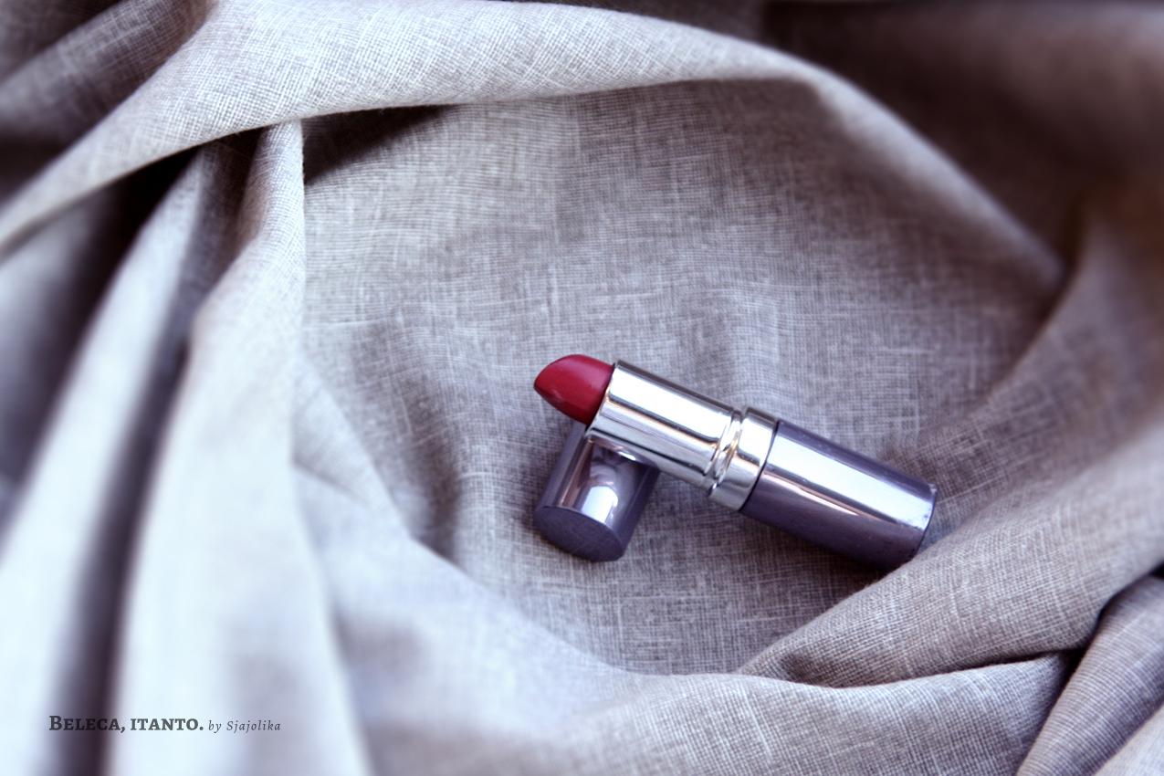 seventeen sheer lipstick swatch