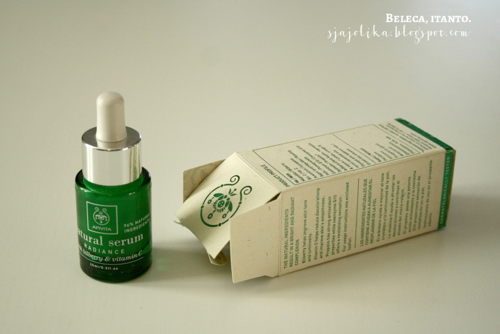 Apivita Natural Serum Radiance