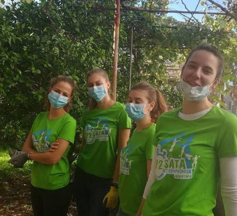 """U Dubrovniku započela """"72 sata bez kompromisa"""" - mladi volonteri u akciji!"""