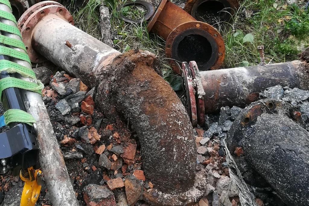Vodovod završio zamjenu kanalizacijskog cjevovoda Giman